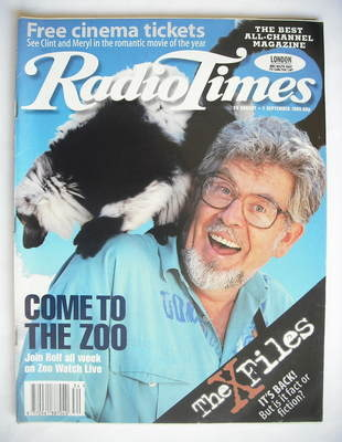 <!--1995-08-26-->Radio Times magazine - Rolf Harris cover (26 August - 1 Se