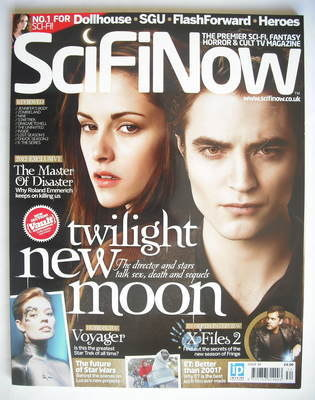 SciFiNow Magazine - Kristen Stewart and Robert Pattinson cover (Issue No 34