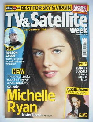 TV&Satellite Week magazine - Michelle Ryan cover (5-11 December 2009)