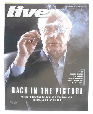 <!--2009-11-01-->Live magazine - Michael Caine cover (1 November 2009)