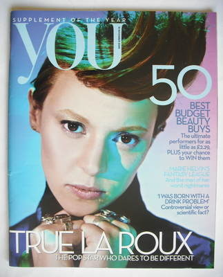 <!--2009-11-15-->You magazine - La Roux cover (15 November 2009)