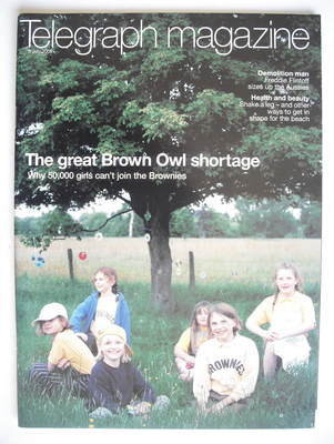 <!--2005-07-09-->Telegraph magazine - The Great Brown Owl Shortage cover (9