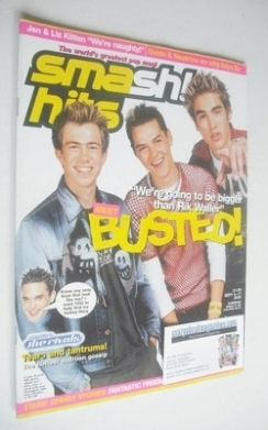 <!--2002-09-04-->Smash Hits magazine - Busted cover (4-17 September 2002)