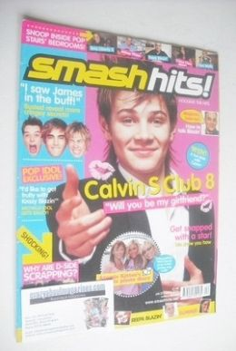 <!--2004-01-23-->Smash Hits magazine - Calvin Goldspink cover (23 January -