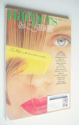<!--1980-04-->British Harpers & Queen magazine - April 1980
