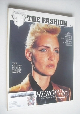 The Fashion magazine - Nadja Auermann cover (Autumn/Winter 2000 - No. 01)