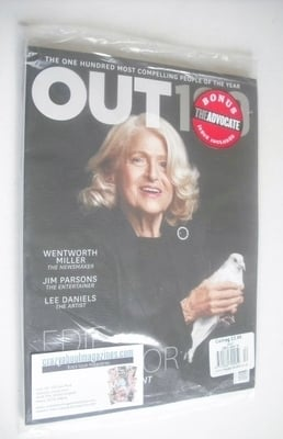 <!--2014-01-->Out magazine - Edie Windsor cover (January 2014)