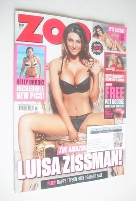 <!--2014-02-14-->Zoo magazine - Luisa Zissman cover (14-20 February 2014)