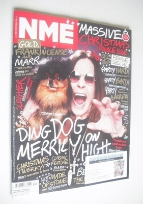 <!--2013-12-21-->NME magazine - Ozzy Osbourne cover (21/28 December 2013)