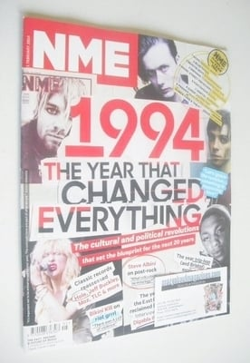 <!--2014-02-01-->NME magazine - 1994 The Year That Changed Everything cover