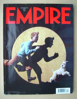 <!--2010-12-->Empire magazine - Tintin cover (December 2010 - Subscriber's