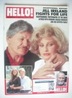 <!--1989-07-22-->Hello! magazine - Jill Ireland and Charles Bronson cover (22 July 1989 - Issue 61)