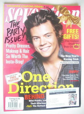 <!--2013-12-->Seventeen magazine - December 2013/January 2014 - Harry Style