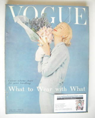 <!--1955-04-->British Vogue magazine - April 1955 (Vintage Issue)