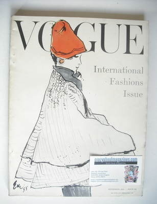 <!--1955-09-->British Vogue magazine - September 1955 (Vintage Issue)