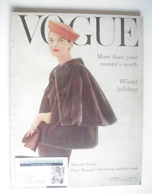 <!--1955-11-->British Vogue magazine - November 1955 (Vintage Issue)