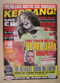 <!--1995-06-17-->Kerrang magazine - 17 June 1995 (Issue 550)