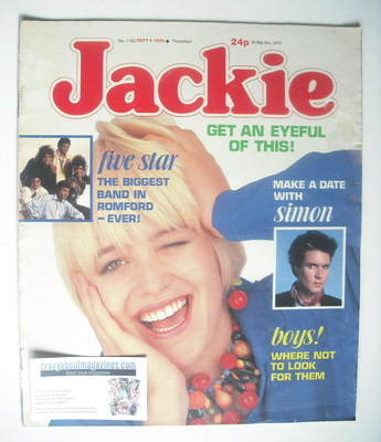 <!--1986-09-06-->Jackie magazine - 6 September 1986 (Issue 1183)