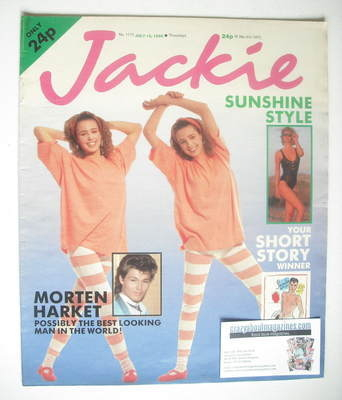 <!--1986-07-12-->Jackie magazine - 12 July 1986 (Issue 1175)