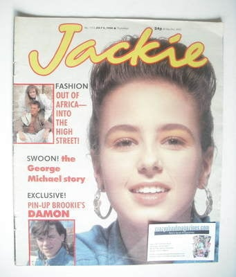 <!--1986-07-05-->Jackie magazine - 5 July 1986 (Issue 1174)
