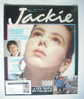 <!--1986-06-07-->Jackie magazine - 7 June 1986 (Issue 1170)