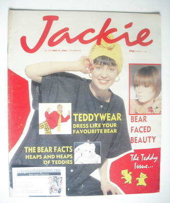 <!--1986-05-17-->Jackie magazine - 17 May 1986 (Issue 1167)