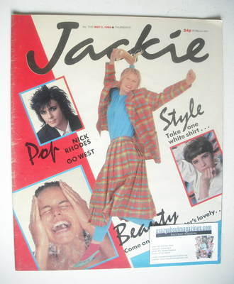<!--1986-05-03-->Jackie magazine - 3 May 1986 (Issue 1165)