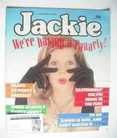 <!--1986-12-20-->Jackie magazine - 20 December 1986 (Issue 1198)