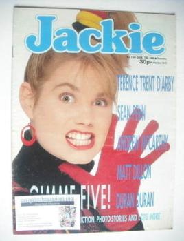 Jackie magazine - 14 January 1989 (Issue 1306)
