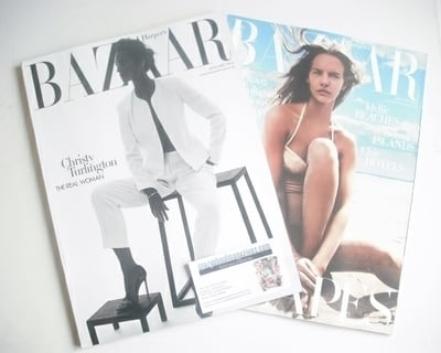 <!--2014-01-->Harper's Bazaar magazine - January 2014 - Christy Turlington