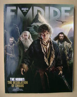 <!--2013-12-->Empire magazine - The Hobbit: The Desolation of Smaug cover (