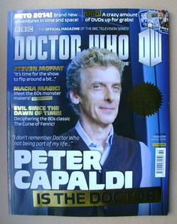 Doctor Who magazine - Peter Capaldi cover (February 2014 - Issue 469)