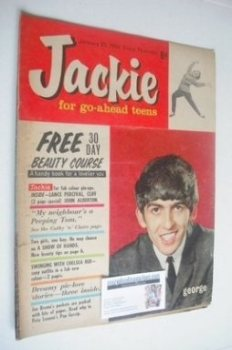 Jackie magazine - 25 January 1964 (Issue 3 - George Harrison cover)