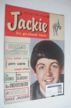 <!--1964-05-09-->Jackie magazine - 9 May 1964 (Issue 18 - Paul McCartney co