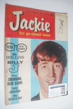 <!--1964-05-23-->Jackie magazine - 23 May 1964 (Issue 20 - John Lennon cove