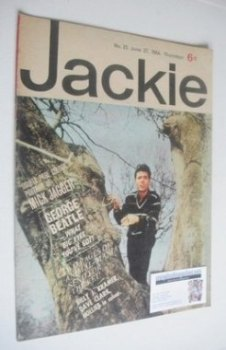 <!--1964-06-27-->Jackie magazine - 27 June 1964 (Issue 25 - Cliff Richard cover)