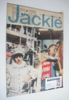<!--1964-07-11-->Jackie magazine - 11 July 1964 (Issue 27 - Ringo Starr and John Lennon cover)