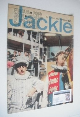 <!--1964-07-11-->Jackie magazine - 11 July 1964 (Issue 27 - Ringo Starr and