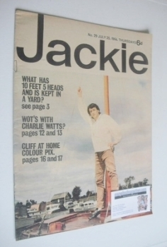 Jackie magazine - 25 July 1964 (Issue 29)