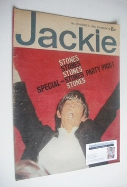<!--1964-08-01-->Jackie magazine - 1 August 1964 (Issue 30 - Brian Jones co
