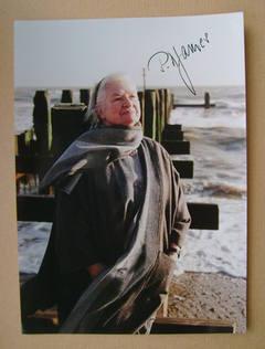 P.D. James autograph