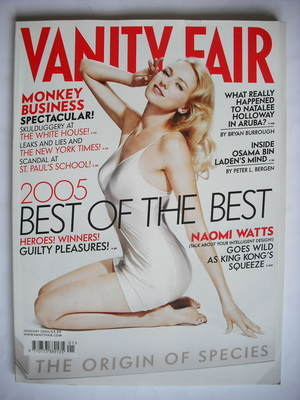<!--2006-01-->Vanity Fair magazine - Naomi Watts cover (January 2006)