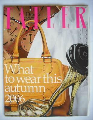 Tatler supplement - What To Wear This Autumn 2006