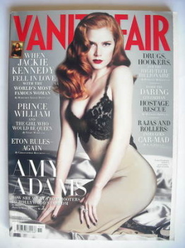 Vanity Fair magazine - Amy Adams cover (November 2008)