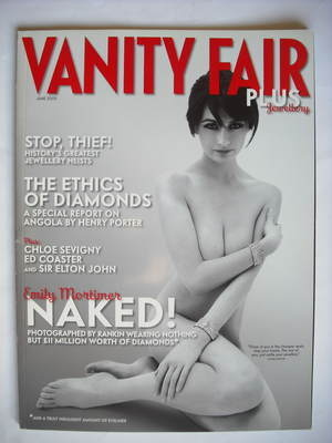 Vanity Fair Jewellery magazine supplement (June 2005 - Emily Mortimer cover