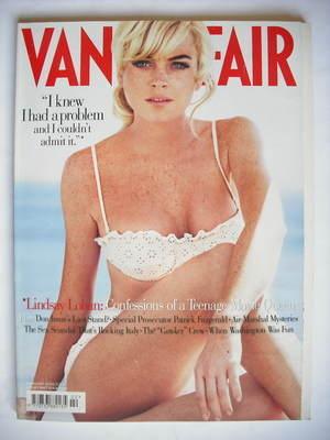<!--2006-02-->Vanity Fair magazine - Lindsay Lohan cover (February 2006)