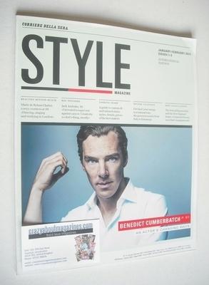 Style magazine - Benedict Cumberbatch cover (Spring 2014)