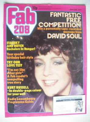 <!--1977-01-22-->Fabulous 208 magazine (22 January 1977 - Leslie Ash cover)