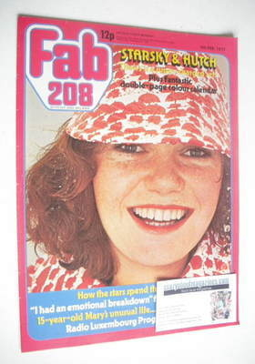 <!--1977-02-05-->Fabulous 208 magazine (5 February 1977)
