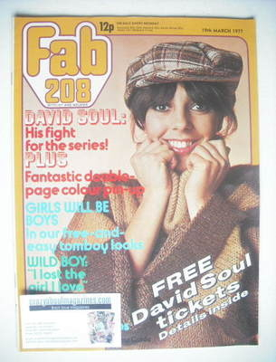 <!--1977-03-19-->Fabulous 208 magazine (19 March 1977)